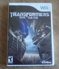Nintendo Wii Video Game Transformers The Game Complete w/Manual!