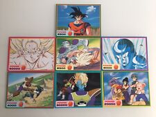 Dragon Ball Z Deluxe Card Amada Lot 7 Jumbo Cards Rare!