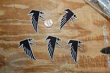"Atlanta Falcons 2"" Patch 1990-2002 Primary Logo Football 5 Patch Lot"