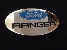 "FORD RANGER LOGO Oval Tow Plug 2"" Trailer Receiver Hitch Cover OEM W72X1"
