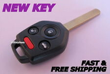 OEM SUBARU key transmitter/transponder keyless entry remote CWTWB1U811 +NEW CASE