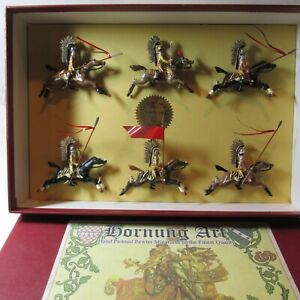 Lead Toy Soldiers POLISH WINGED HUSSARS HORNUNG ART HEYDE