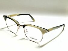 Authentic Tom Ford TF5342 060 Beige Horn/Gold 49mm RX Eyeglasses