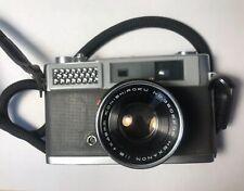 Konica S Rangefinder Camera w/Strap - Working + Clean
