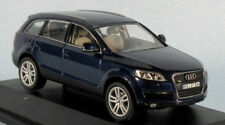 SCHUCO Audi Q7 (Mugello Dark Blue) 1/43 Scale Diecast Model NEW, RARE! Neat SUV!