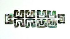 10x 70-74 Body Windshield Rear Glass Reveal Moulding Clips Fits Plymouth GTX NOS