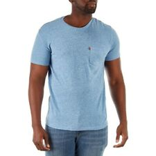 LIGHT BLUE Levi's Men's T-Shirt with POCKET