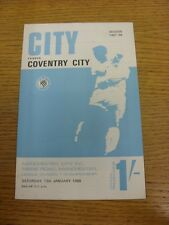 13/01/1968 Manchester City v Coventry City  . Thanks for viewing this item, buy