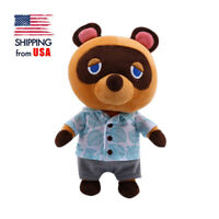 "Animal Crossing Tom Nook 11"" Plush Doll Raccoon Soft Stuffed Anime Toy Kids Gift"