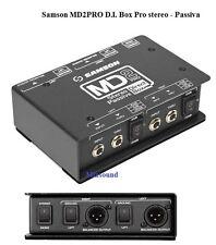 Samson Md2 Pro - D.i. Box Stereo passivo