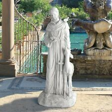 Italian Patron Saint Francis of Assisi Statue Nature Sculpture