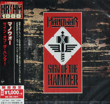 MANOWAR - SIGN OF THE HAMMER, 2018 JAPAN LIMITED EDITION CD + OBI, SEALED!