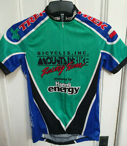 Verge Sport Child Youth Bicycle Cycling Jersey Size Small Green/Black/Blue