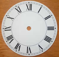 NEW - 5 Inch Clock Dial Face - White - 127mm Roman Numerals - DL17