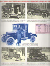 1920 Ford Model T Article - Must See !! Ice Cream Truck + Snowmobile + Runabout