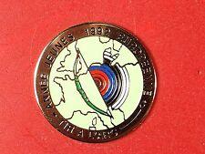 pins pin sport tir a l'arc archer 1992 carte de france