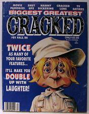 CRACKED BIGGEST GREATEST #21 Fall 1986 Dracula / Partridge Family GOOD RARE