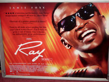 Cinema Poster: RAY 2005 (Quad) Jamie Foxx Kerry Washington Taylor Hackford