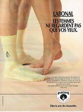 PUBLICITE  ADVERTISING  1998  LABONAL  chaussettes