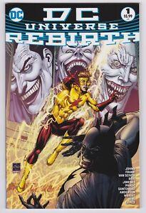 DC Universe Rebirth #1 (Ethan Van Sciver 4th Print Variant Cover) 2016 One-Shot