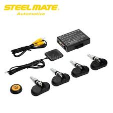 Steelmate TP-05 Tire Pressure Monitoring System TPMS for in-dash A/V H0J4