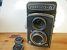 Professional Camera Twin Lens Yashica  Model A Vintage Manual 120 film -EXC COND