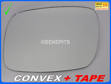 Wing Mirror Glass VOLKSWAGEN TOUAREG 2002-2006 CONVEX + TAPE Left Side #1037
