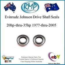 2 X Evinrude Johnson Drive Shaft Oil Seals 20hp-thru-35hp # 321928