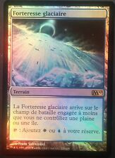 Forteresse Glaciaire PREMIUM / FOIL VF - French Glacial Fortress - Magic mtg