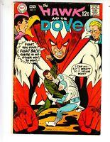 "Hawk and Dove 2 VG+ (4.5) 11/68 ""Jailbreak!"" Steve Ditko artwork!"