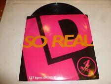 "LOVE DECADE - So Real - 1991 UK 4-track 12"" vinyl single"
