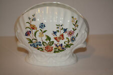 "Aynsley ""Cottage Garden"" Seashell Vase"