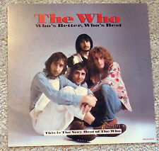 The WHO 25th Anniversary Who's Better Promotional Flat Record Store Promo POSTER