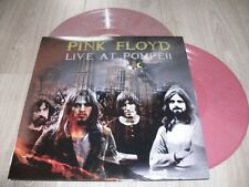 PINK FLOYD RARE 2 LP COULEURS LIVE AT POMPEII NEUF/SCELLE