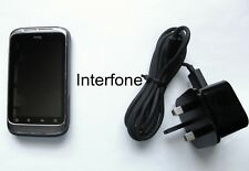 Unlocked HTC Wildfire S Smartphone-V/Good Condition-Including Charger Bundle