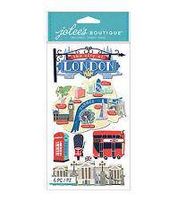Jolee's LONDON 3d Scrapbook Stickers