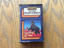 Killer Gorilla Acorn Electrom Game! Look At My Other Games!