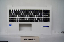 NEW ASUS X553MA X553M X553 Palmrest Top Base Cover UK Keyboard White