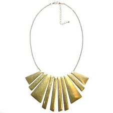 TRIBAL FASHION NECKLACE 'OLD GOLD'