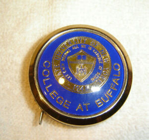 SUNY College at Buffalo Advertising Retractable Flexible Tape Measure
