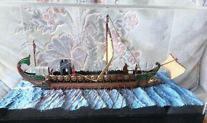 Vintage Roman Model Warship 1967