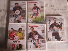 5 Wii juegos FIFA 12 - 15 + pes 2008