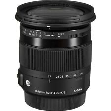 SIGMA Contemporary 17-70mm F2.8-4 DC MACRO OS HSM AF Lens for Nikon F