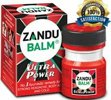 10pack Zandu Herbal Balm Ultra Power Headache Pain ColdSprains Strain Relief 8ml