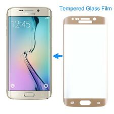 Gold SAMSUNG GALAXY S6 EDGE Plus FULL CURVED 3D TEMPERED GLASS SCREEN PROTECTOR