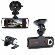 "Accfly A1 2.7"" 1080P HD Full LCD Dual Lens Dashboard Cam Car DVR with 120°Wide-"