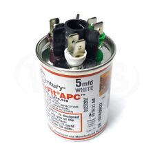 Century 2509074-001 MasterFit® APC Run Capacitor, 2.5/5/7.5/10/12.5/15mfd 370VAC
