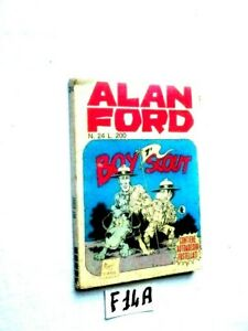 ALAN FORD N° 24 ANNO III  GIUGNO 1971  BOY 7°  SCOUT NO ADESIVI    (F14A)