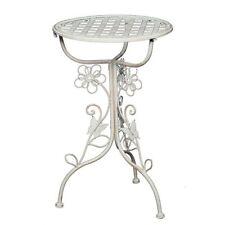 G1179 : Romantique Art Nouveau Blum-Côté, Table D'Appoint, Nostalgie Fer de