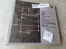 1992 BMW 318iS / 325i (E36) Elecrical Troubleshooting Service Manual OEM
